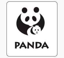 Panda Sign, China - Regular Version Baby Tee