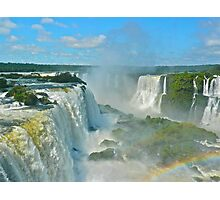 Mighty Iguazu Photographic Print