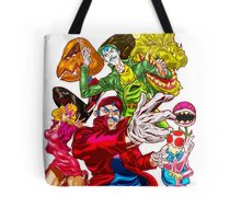 Street fighter Mario Tote Bag