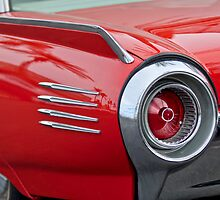 1961 Ford Thunderbird Taillight by Jill Reger