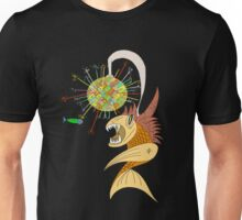 Disco Fish  Unisex T-Shirt