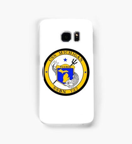 SSBN 727 USS Michigan Crest Samsung Galaxy Case/Skin