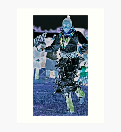 ~ Jingle Dress Dancer 2012 --NYC~ Art Print