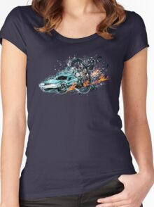 Break to the Future Women's Fitted Scoop T-Shirt