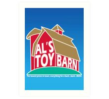 Al's Toy Barn Art Print