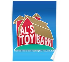 Al's Toy Barn Poster