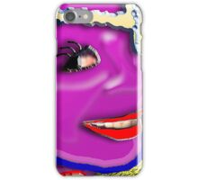MAYBE WEST aka THE COLOUR PURPLE iPhone Case/Skin