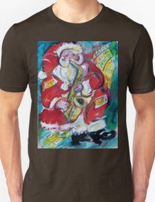 SANTA AND SAX, CHRISTMAS PARTY T-Shirt