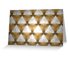 Prismatic Texture 6 Greeting Card