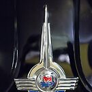 1957 Morris Minor 1000 Traveller Emblem by Jill Reger