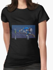 Sly's Clue Bottle Catastrophe Womens Fitted T-Shirt
