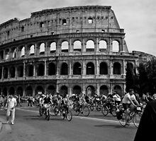 Colosseum with Bikes by christianee