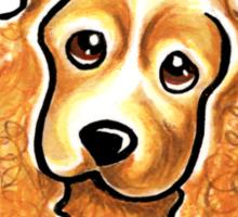 Cocker Spaniel :: It's All About Me Sticker
