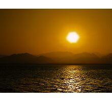 Sunset over the Sinai...... Photographic Print