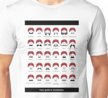 Mustaches Guide Unisex T-Shirt