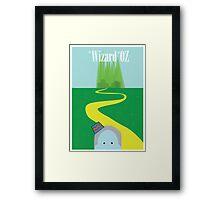 Wizard of Oz Reimagined Framed Print