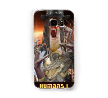 HUMANS....ABANDON THE PLANET Samsung Galaxy Case/Skin