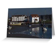 Low Tide, The Tide Mill, Woodbridge Greeting Card