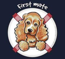 Cocker Spaniel :: First Mate Kids Tee