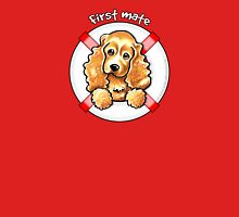 Cocker Spaniel :: First Mate Womens Fitted T-Shirt
