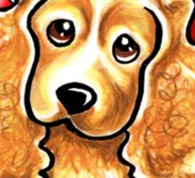 Cocker Spaniel :: First Mate Sticker