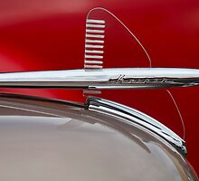 1950 Kaiser Hood Ornament by Jill Reger