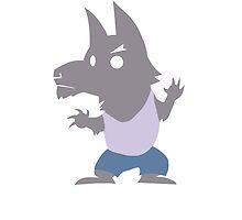 Cute Werewolf by FlightyAlrighty