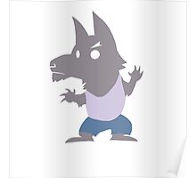 Cute Werewolf Poster