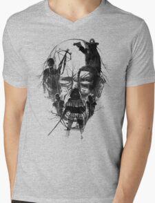 Dead Walker Mens V-Neck T-Shirt