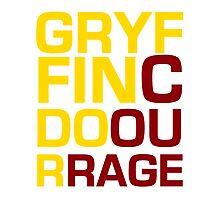 Gryffindor Courage Photographic Print
