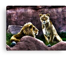 Lazy HDR Days Canvas Print