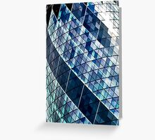 The Gherkin Building London Greeting Card
