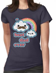 Cute Best Dad Ever Womens Fitted T-Shirt