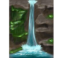 Tranquil Waterfall Photographic Print