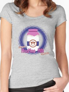 Delicious MooMoo Milk! Women's Fitted Scoop T-Shirt