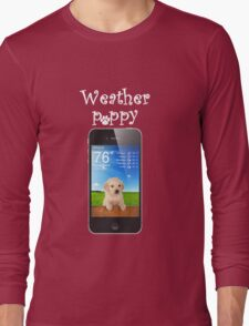 Clear weather Long Sleeve T-Shirt
