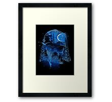 Death Skull Framed Print