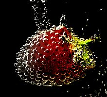 Strawberry Bubbly. by Livvy Young