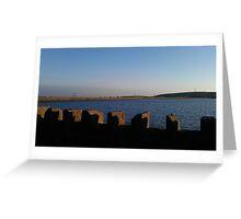 Reservoir- North West England Greeting Card