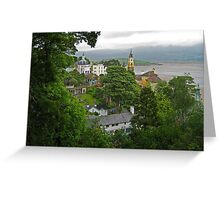 Portmeirion Greeting Card