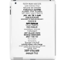 Parks and Recreation MOUSE RAT previous names iPad Case/Skin