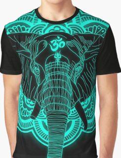 Hindu god elephant Ganesha Graphic T-Shirt