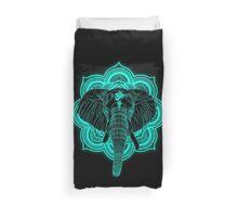 Hindu god elephant Ganesha Duvet Cover