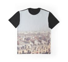 Paris Morning Rooftops Graphic T-Shirt