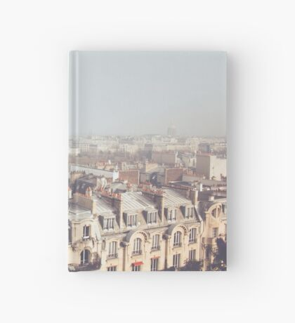 Paris Morning Rooftops Hardcover Journal