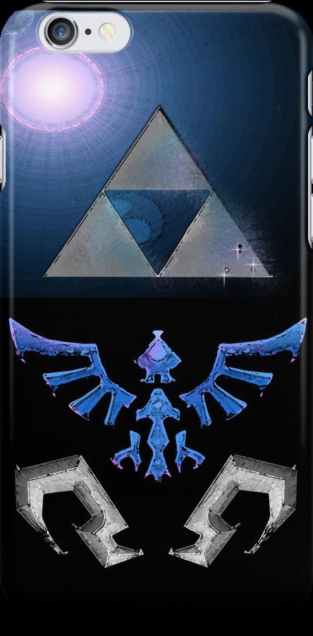 Skyward Sword iPhone Shield- Fi's theme by Midna