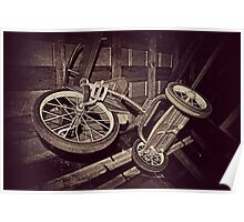 The Old Tricycle  Poster