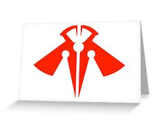 Rank-Up-Magic Raptor's Force  Red edition Greeting Card