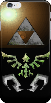 Skyward Sword iPhone Shield- Hero Link's theme by Midna