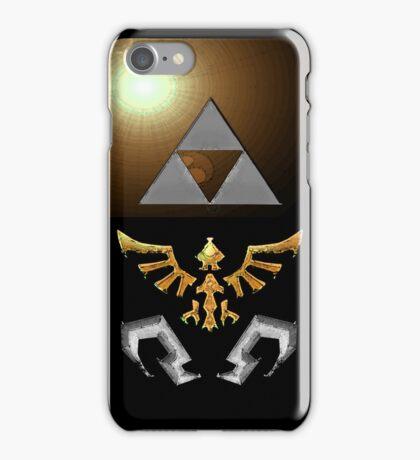 Skyward Sword iPhone Shield- Gold Skulltula Theme iPhone Case/Skin